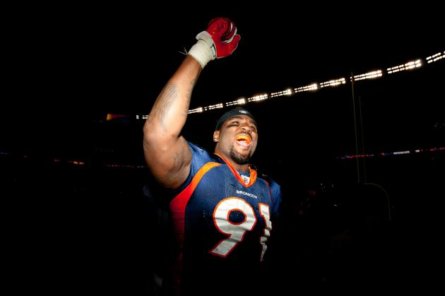 Broncos' Robert Ayers Had Hand in Fateful Play vs. Ravens in Playoffs