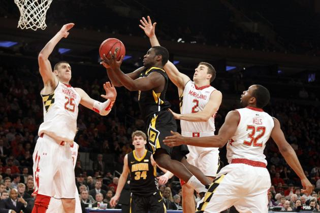 Iowa Men Keep Maryland at Bay, Advance to NIT Championship Game