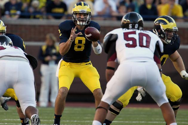 Michigan's Backup Quarterbacks Get Tested
