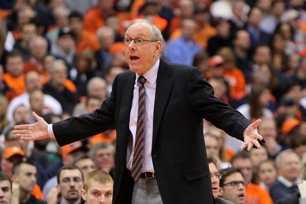 Syracuse Coach Jim Boeheim Back on Speaking Terms with Andy Katz