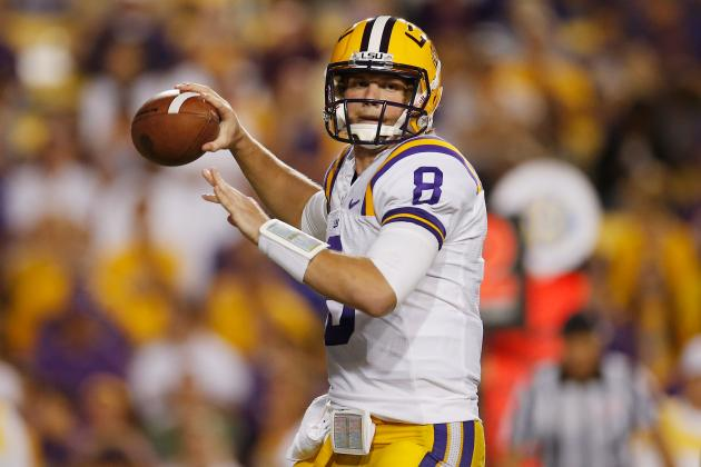 LSU Football: Why Zach Mettenberger Will Have a Better Year Than Aaron Murray