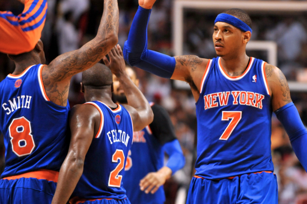 Carmelo Anthony's Hero Ball Is NBA Playoffs' Biggest X-Factor