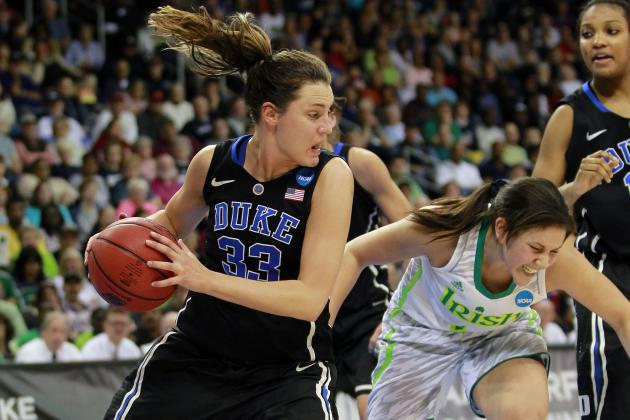 Duke Women Fall to Notre Dame, 87-76, in NCAA Basketball Tourney