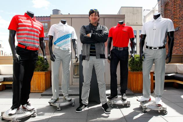 Bubba Watson Joins Oakley Team, Reveals Masters Threads in New York City