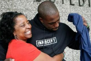 Brian Banks Credits His Mom on His First Day as a Falcon