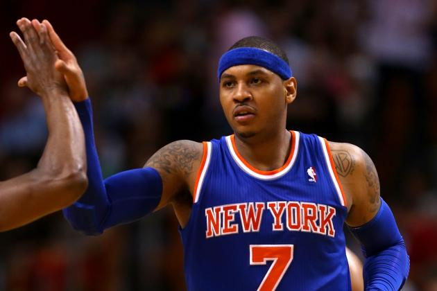Breaking Down How Carmelo Anthony's Hot Streaks Impact NY Knicks Offense
