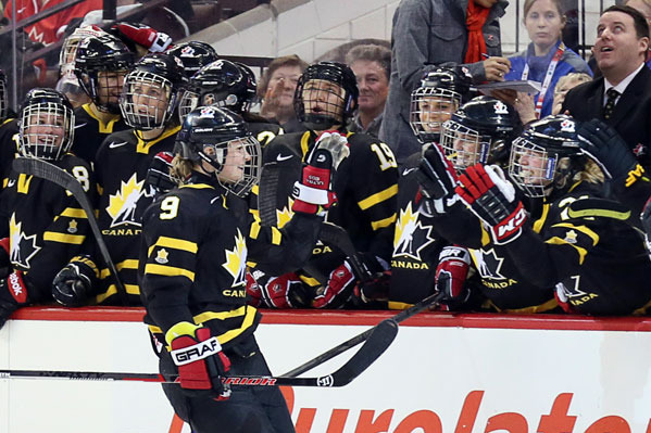 Superstars of CWHL Excited About 2013 IIHF Women's Worlds