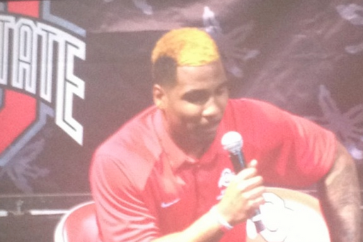 Photo: Braxton Miller Has Blonde Hair Now