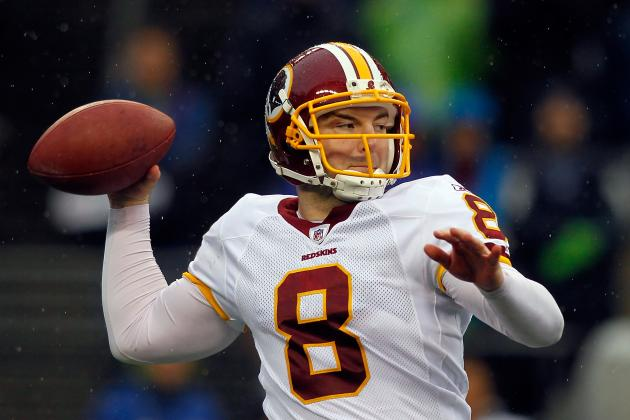 Redskins Re-Sign QB Rex Grossman