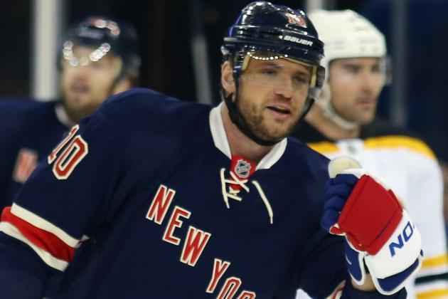 Columbus Blue Jackets Reportedly Acquire Marian Gaborik from New York Rangers
