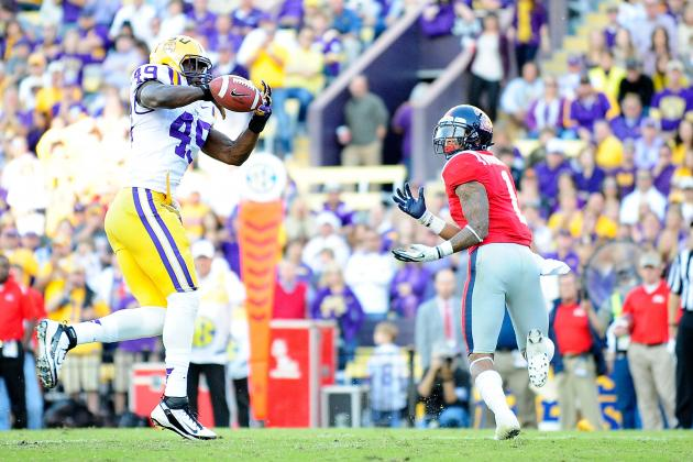 Why the New Orleans Saints Must Draft LSU DE/OLB Barkevious Mingo