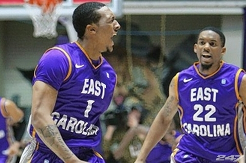 East Carolina Wins the College Insider Tournament on Historic Buzzer Beater