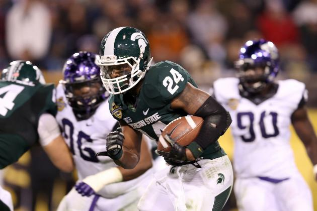 Dallas Cowboys: Can MSU's Le'Veon Bell Be the Perfect Backup to DeMarco Murray?