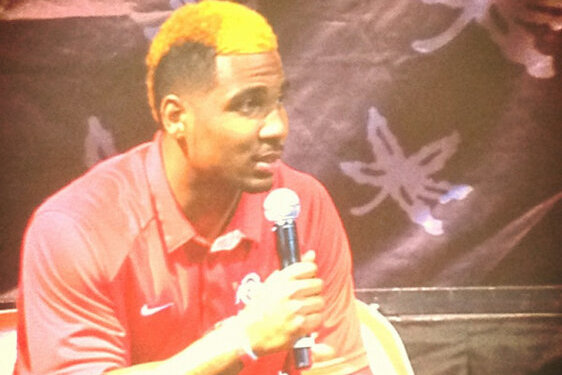 Ohio State's Braxton Miller Apparently Hoping Blondes Really Do Have More Fun