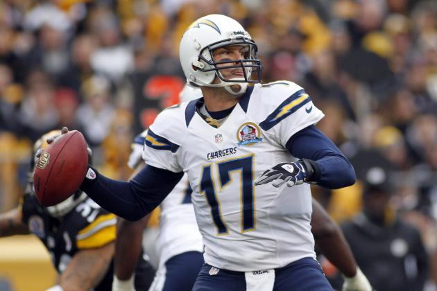 2013 San Diego Chargers Schedule: Full Listing of Dates, Times and TV Info