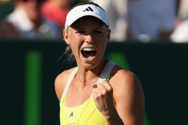 Wozniacki Opens with Win at Family Circle