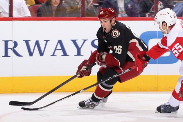 Coyotes Trade Sullivan to New Jersey for Seventh-Round Draft Choice in 2014