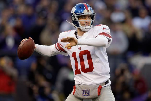 2013 New York Giants Schedule: Full Listing of Dates, Times and TV Info