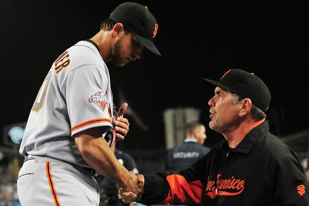 """That Kid, He's Special,"" Bochy Says After Bumgarner Again Dominates Dodgers"
