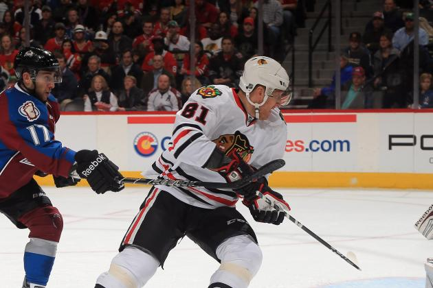 Hawks' Hossa to Play vs. Blues; Sharp Still out
