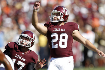 A&M Kicker Making Changes This Spring