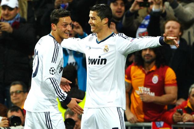 Ronaldo on Target as Real Madrid Take Control Against Galatasaray