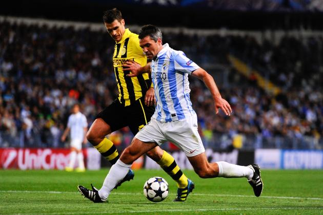 Malaga Deny Dortmund to Keep European Dream Alive