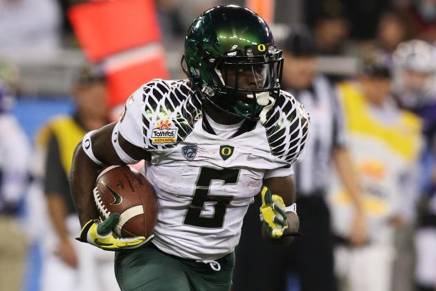 De'Anthony Thomas Talks About a New 'Vibe'