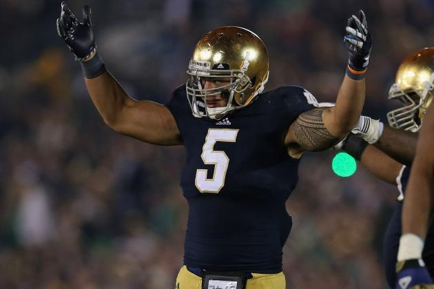 Breaking Down the Best First-Round Fits for LB Manti Te'o