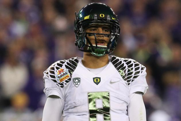 Mariota Eases Ducks' Post-Kelly Transition