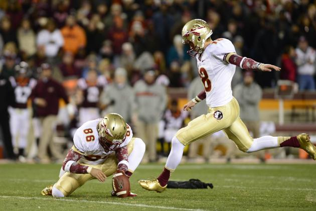 Aguayo Ready to Take Over as FSU's Kicker