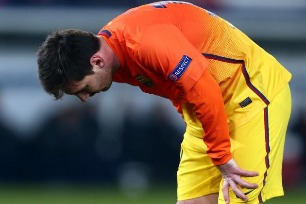 Lionel Messi Hamstring: Even Barcelona Star Not Immune to Injury