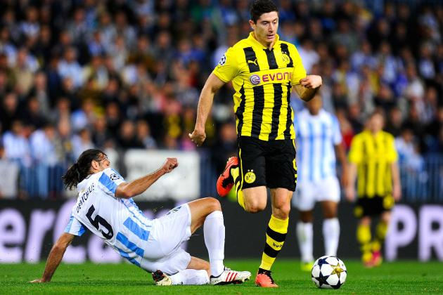 Wasteful Dortmund's Hopes of Champions League Glory Waning Following Malaga Draw