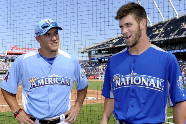 Comparing the Budding Mike Trout-Bryce Harper Link to Mantle-Mays