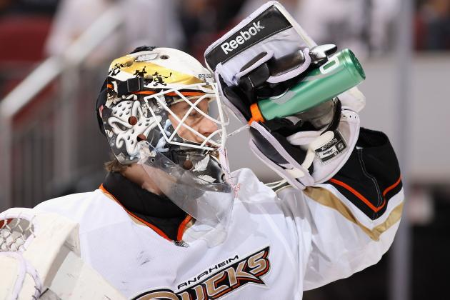 Ducks Trade Goalie Deslauriers for Future Considerations