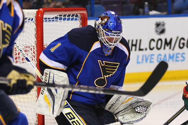In the Slot: With Halak out Indefinitely, Blues Turn to Elliott, Allen