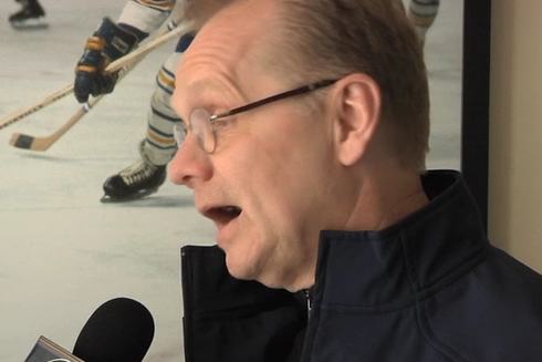 Video: Darcy Regier Talks About Pominville Trade