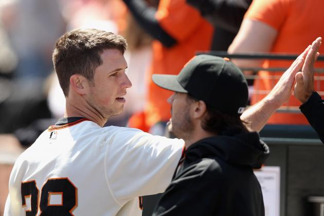 Lineups: Sanchez Catches Lincecum, Belt out Again for Giants