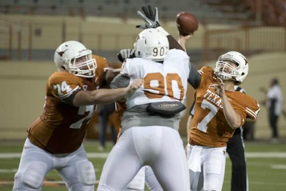 Texas Football Spring Practice: Everything You Need to Know About the DL