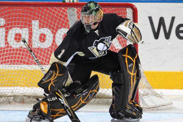 Pens Trade Goalie Patrick Killeen to Blue Jackets for Future Considerations