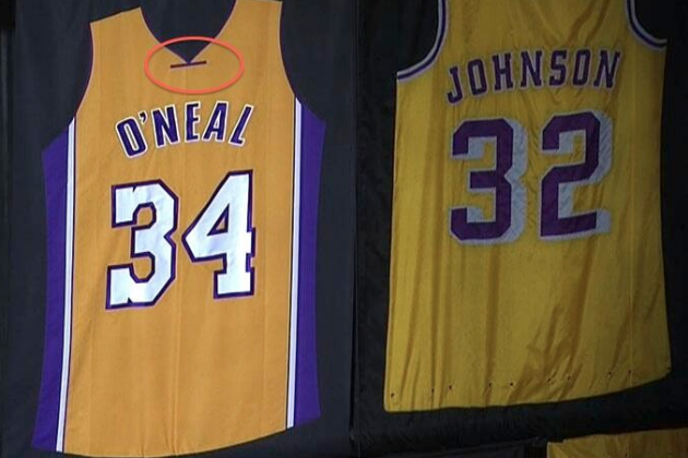 Los Angeles Lakers Botch Shaq's Jersey at Retirement ...