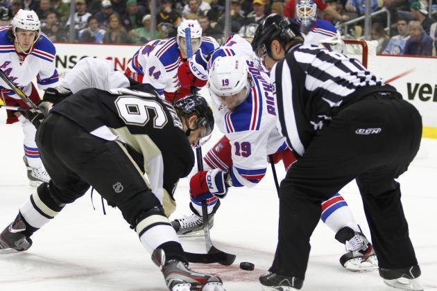 ESPN GameCast: Penguins vs. Rangers
