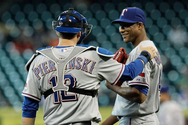 Alexi Ogando Strikes out 10 in Return to Rotation as Rangers Defeat Astros, 4-0