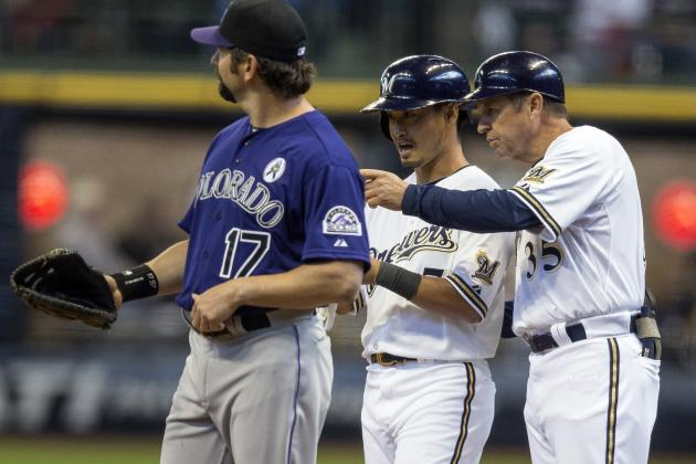 ESPN Gamecast: Rockies vs. Brewers
