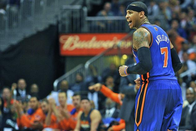 New York Knicks vs. Atlanta Hawks: Live Score, Results and Game Highlights