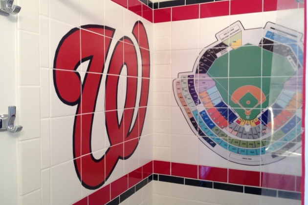 Nationals-Themed Bathroom May Cause Immense Lavatory Envy