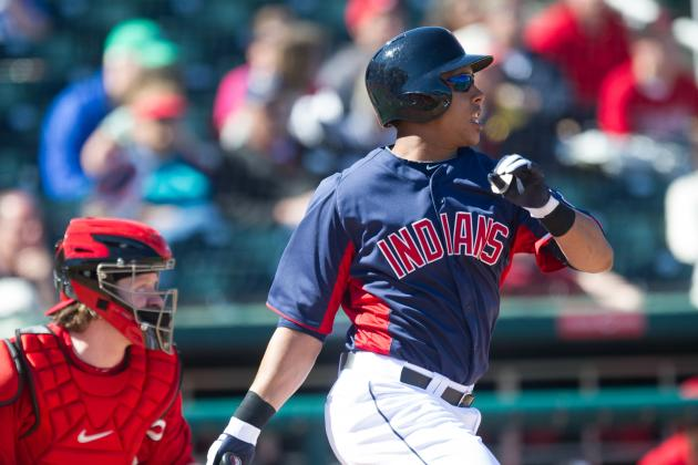 Brantley Shows Why He Fits in the No. 5 Hole for Cleveland