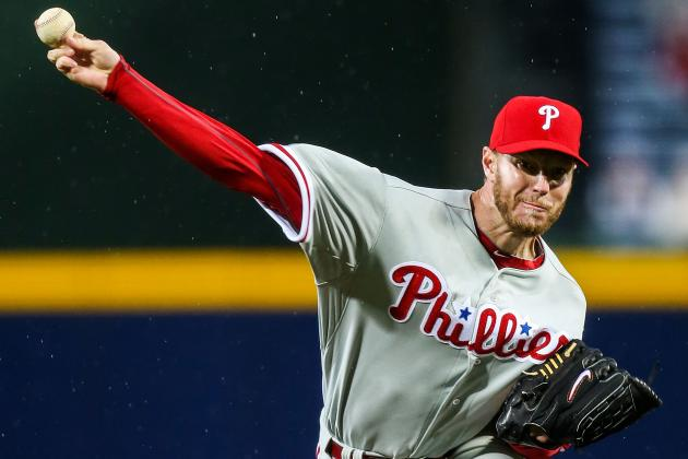 Halladay Strikes out Nine, Doesn't Make It out of the Fourth Inning