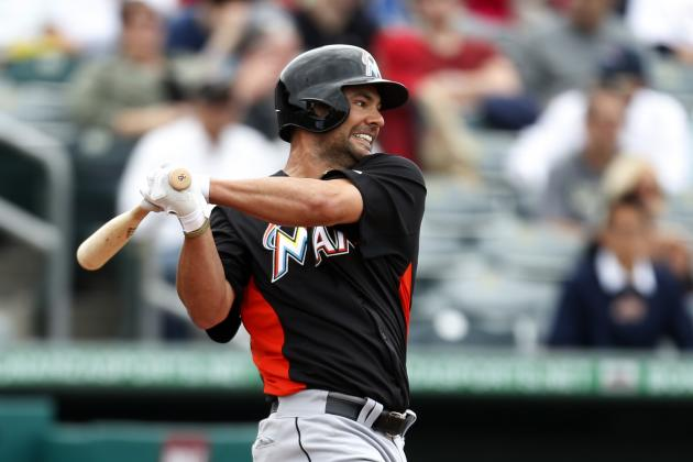 Marlins 1B Casey Kotchman Leaves in 5th Inning
