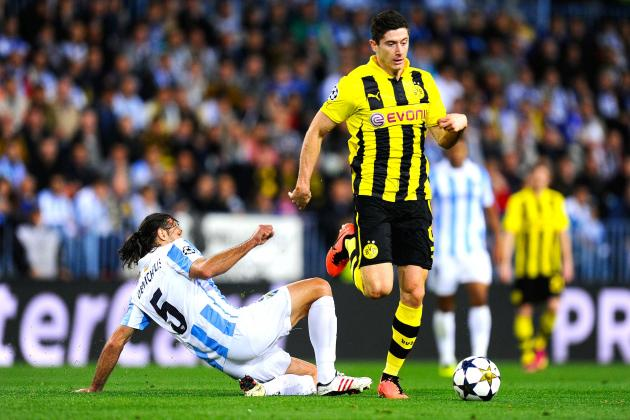 How Malaga Stopped Dortmund's Reus, Gotze and Lewandowski from Scoring